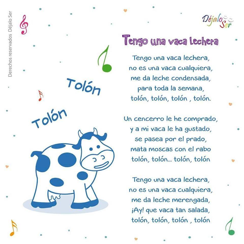 Letras de canciones infantiles eduinf35 e infantil - Letras infantiles para puertas ...