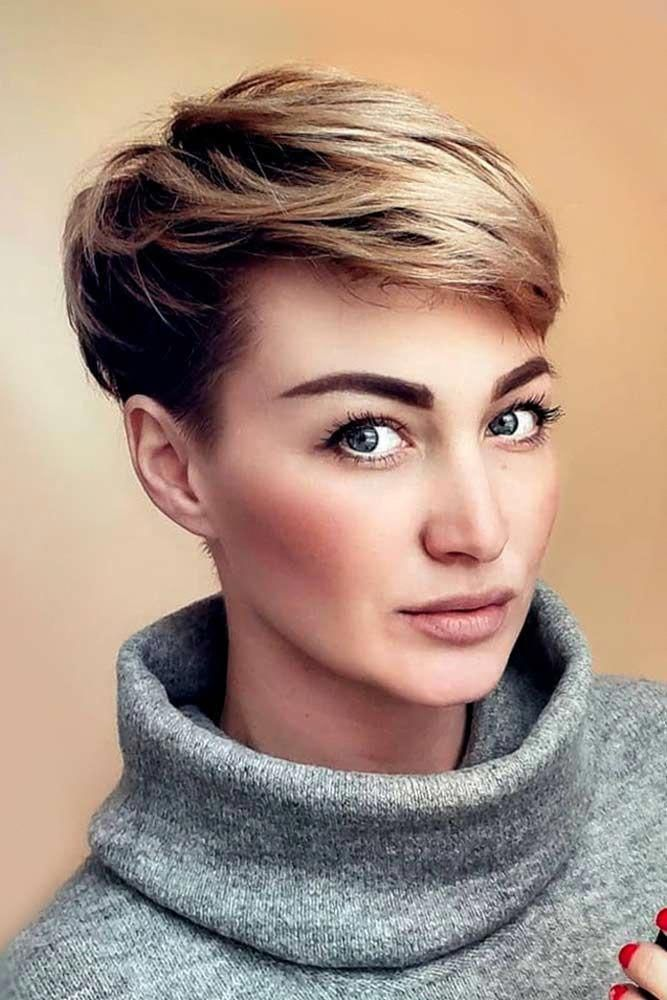 36 Latest Short Hair Trends for Winter 2017 - 2018 #shortpixiehaircuts
