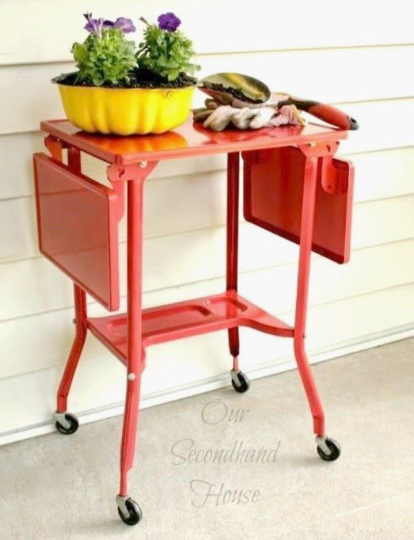 Cozy Little House: Vintage Typewriter Carts: Guest Post