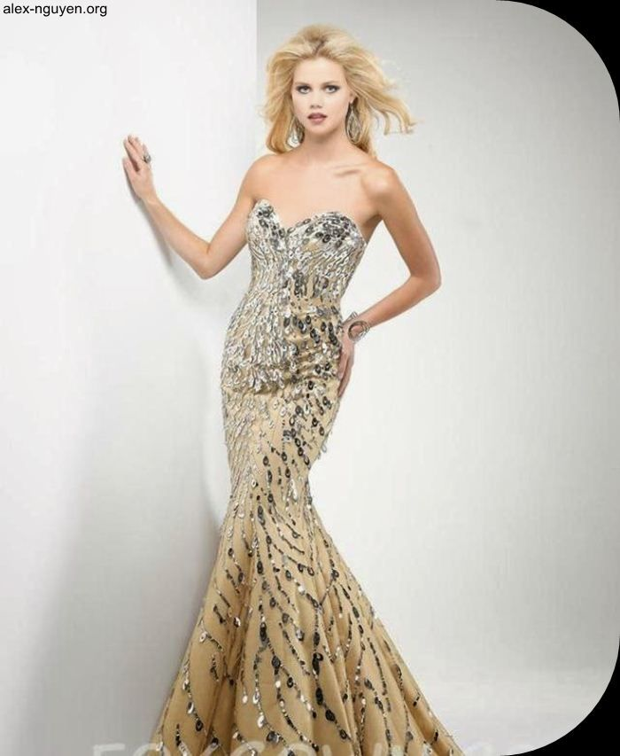 Most Beautiful Prom Dresses Ball Gown: Mermaid Most Expensive Prom Dress