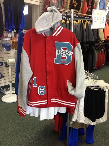 BOWSHER VARSITY HOODIE created at Dan Rodgers Sporting Goods 419-885-4648