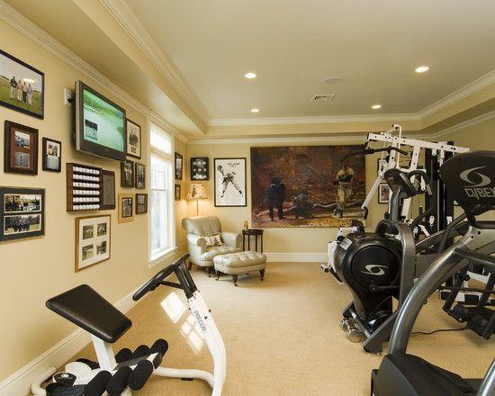 Photos Gym Basement Remodeling Ideas Https Wp Me P8owwu 1jb Workout Room Home Gym Room At Home Home Gym Design