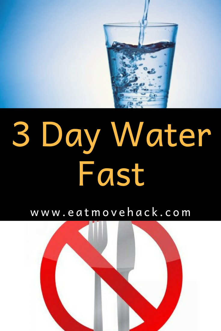 3 Day Water Fast Part 1 Water Fasting Eat Day