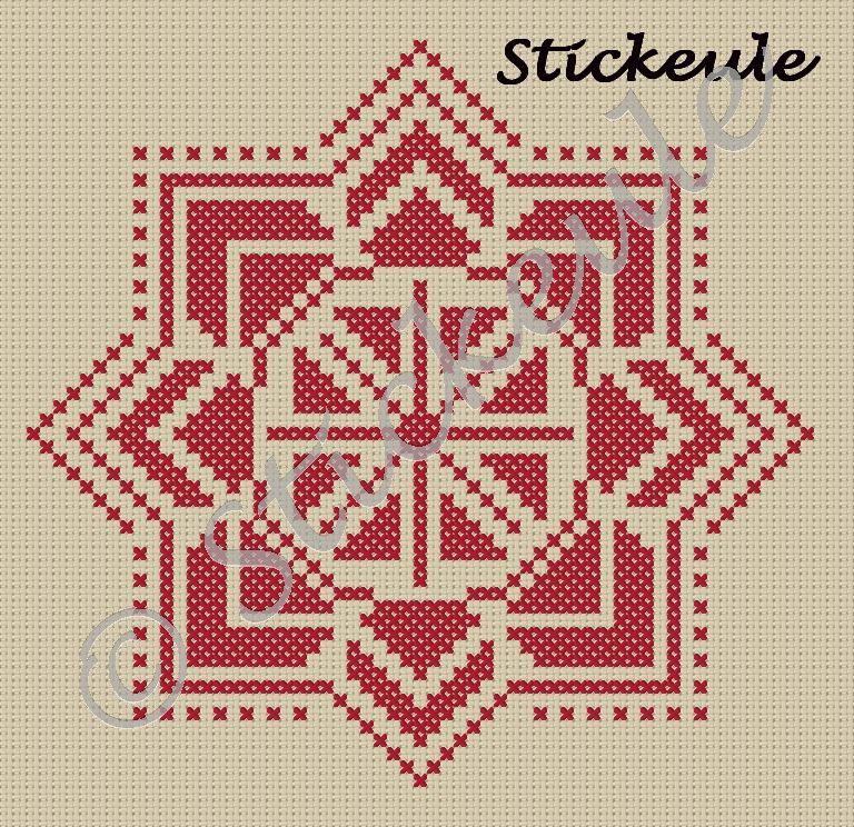 Stickeules Freebies: karácsonyi csillag