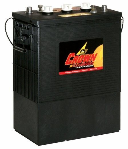 Crown 390 Amp Hour 6 Volt Deep Cycle Battery Deep Cycle Battery Solar Battery Battery Storage