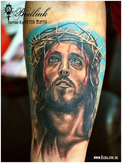 Peter Žuffa 2013 #art #tat #tattoo #tattoos #tetovanie #original #tattooart #slovakia #zilina #bodliak #bodliaktattoo #bodliak_tattoo #jesus_tattoo #realistic_tattoo