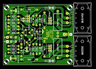 Power Amplifier Super OCL 500W Circuit Circuit, Audio