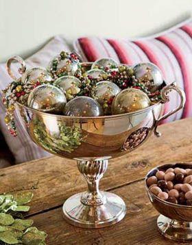 centros de mesa decoracion en navidad. Centros de Mesa Navideños #navidad #christmas #inspiration