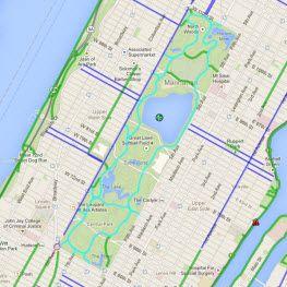 New York City Bike Map New York City Pinterest