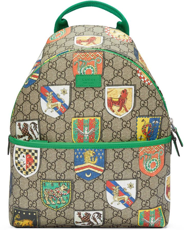 2795133bc1bd Gucci Children s GG crests backpack