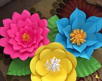 23+ Flores en cartulina ideas