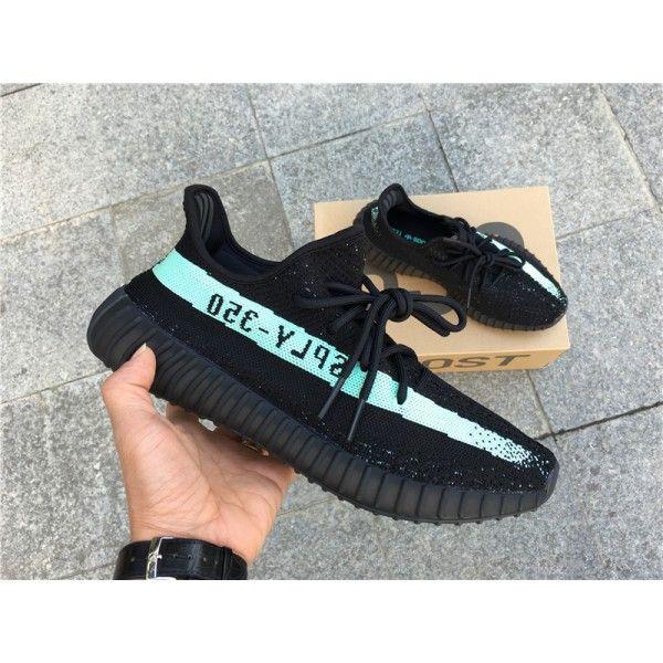 2017 Adidas Originals Yeezy Boots V2 350 SPLY Black Purple Stripe