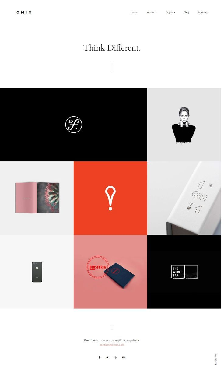 Omio Portfolio Html Website Vorlage Design Design Html Omio Portfolio Vorla Portfolio Web Design Portfolio Website Design Portfolio Website Layout
