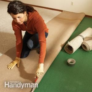 Tips on How to Remove Carpet #familyhandymanstuff