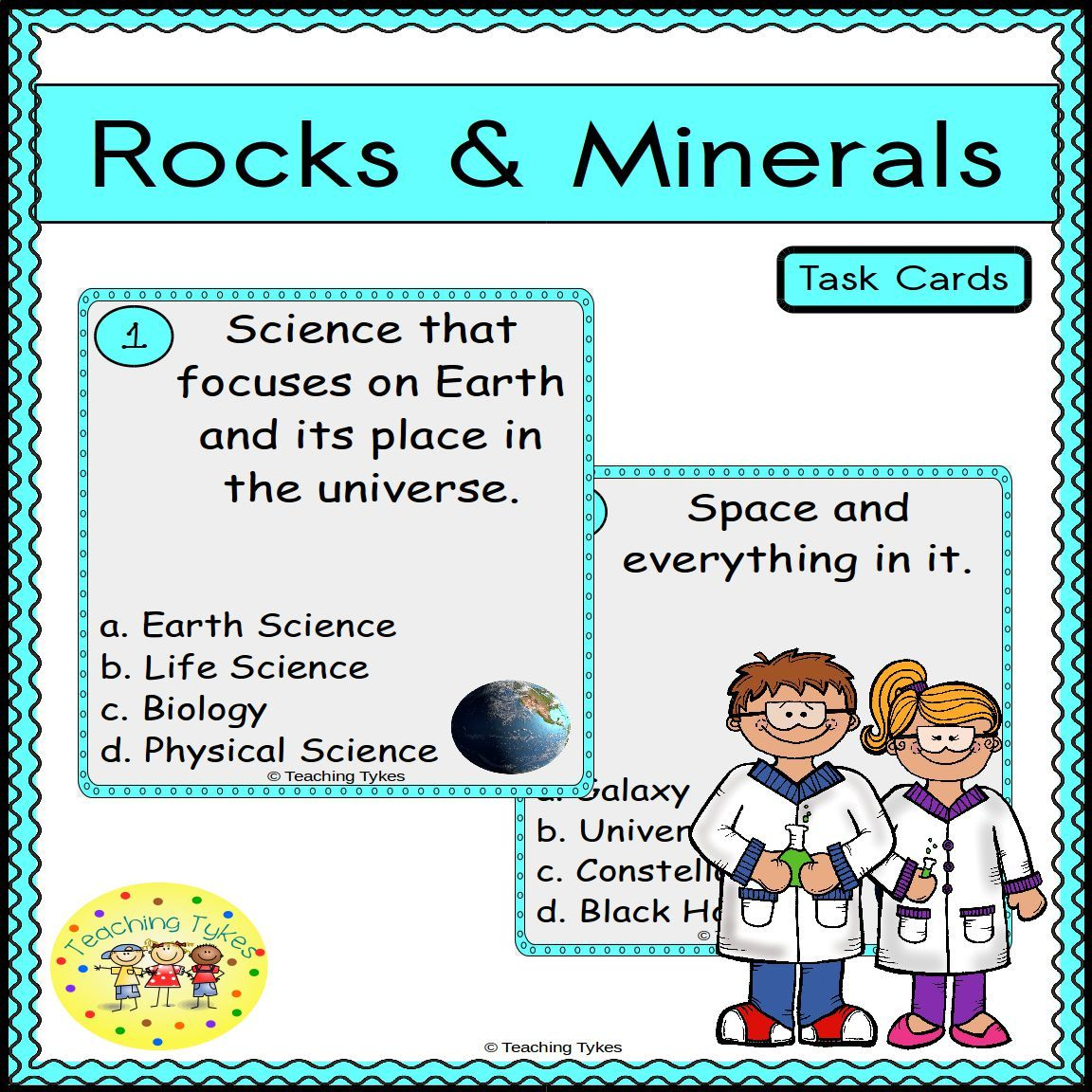 Earth Science Task Cards Are Great For Review