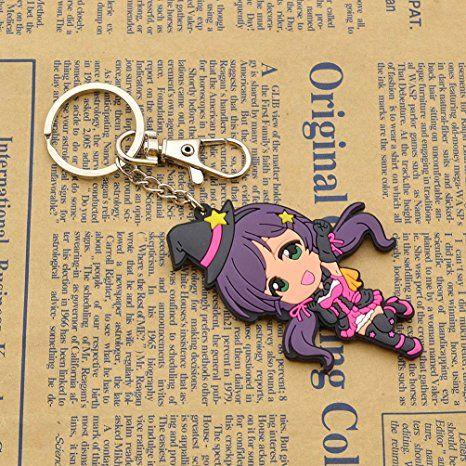 Amazon com: Cute Rubber Figure Keyring LoveLive! School Idol