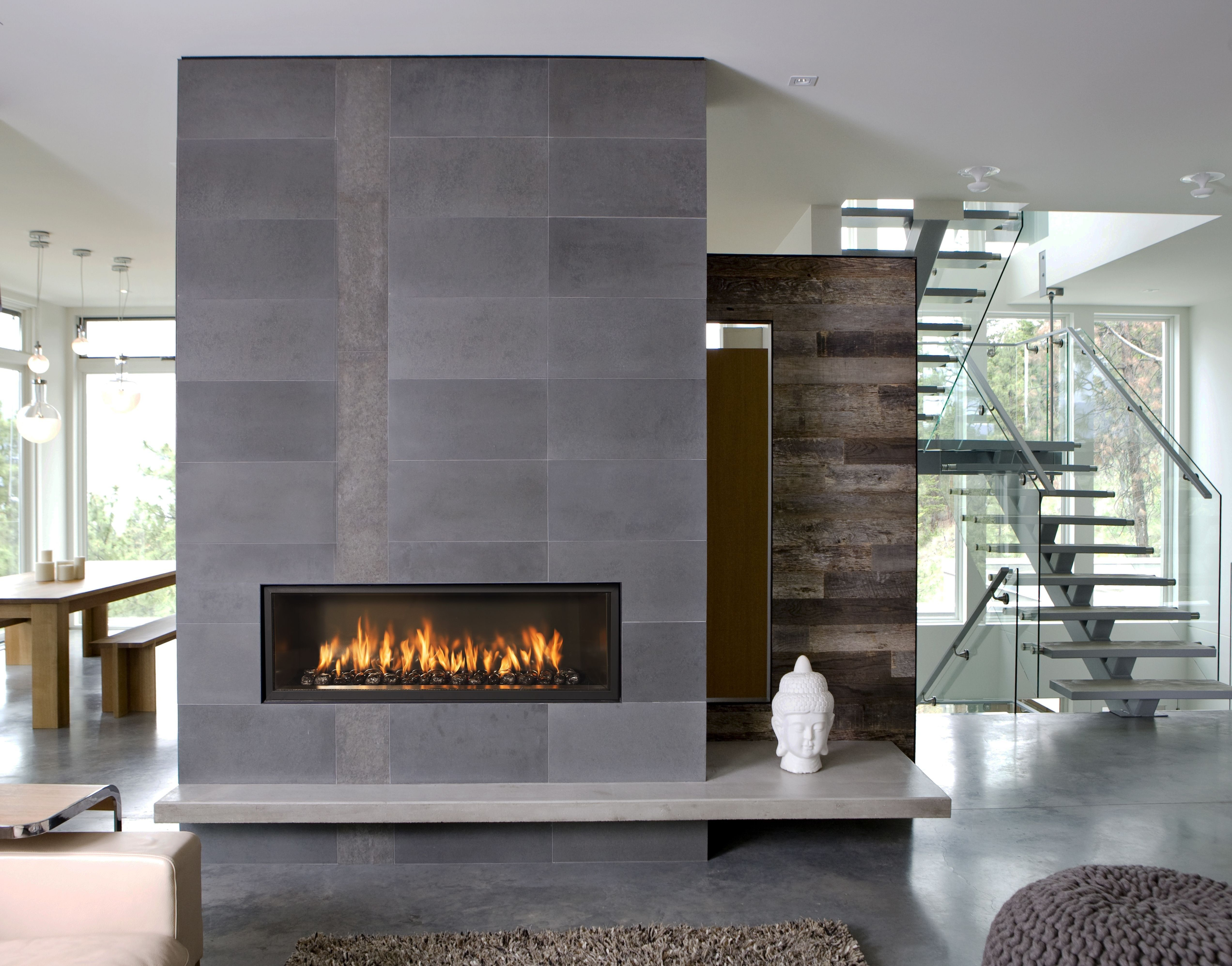 28 Easy And Simple Contemporary Fireplace Design Ideas In 2020