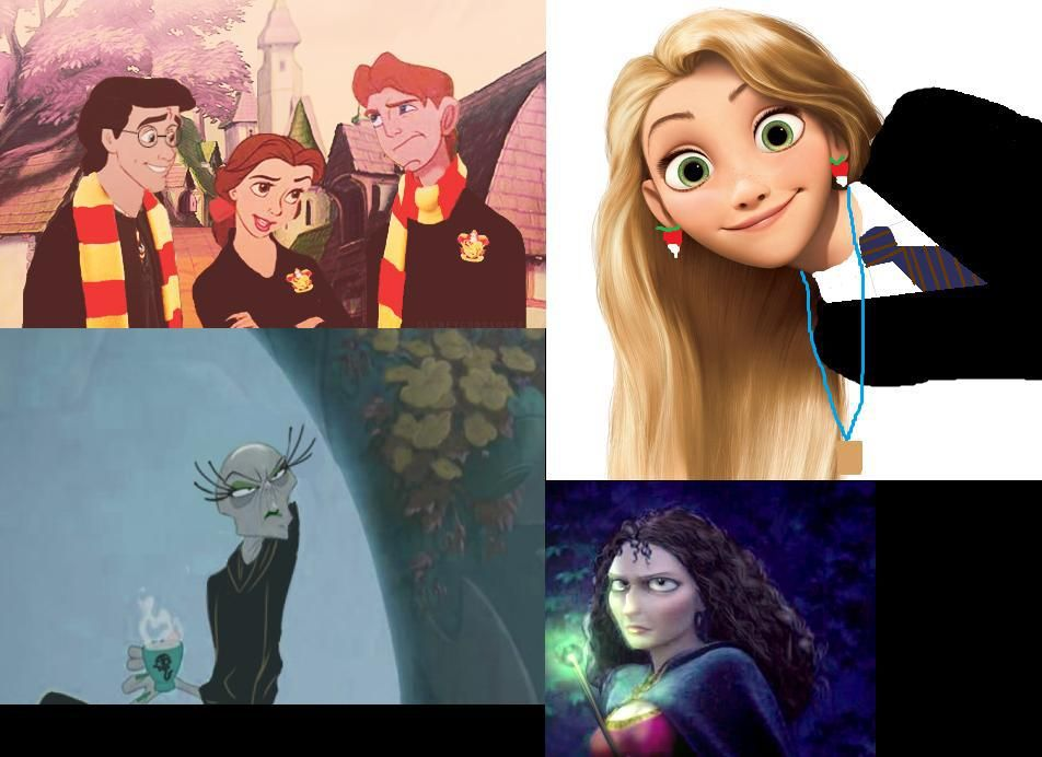 Disney Harry Potter characters