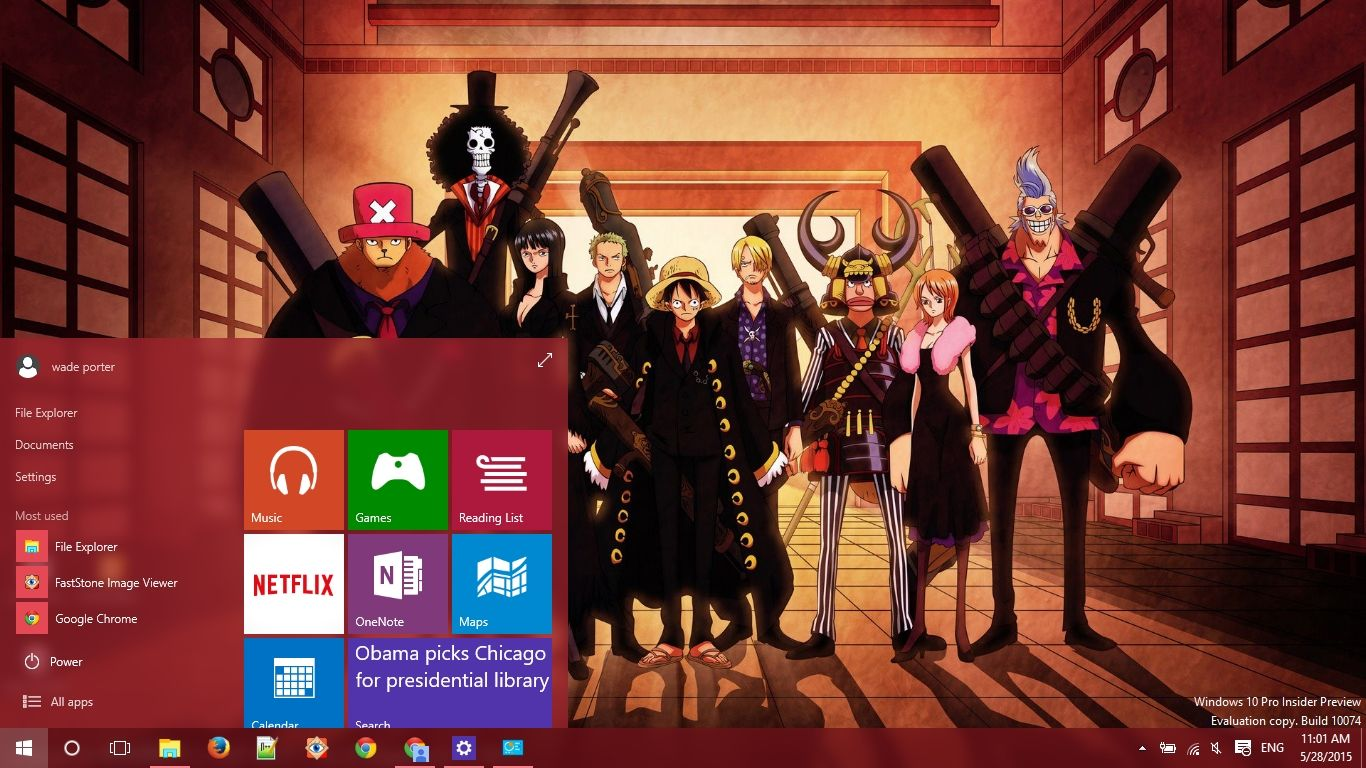 One Piece Windows 10 Theme One Piece Luffy Roronoa Zoro