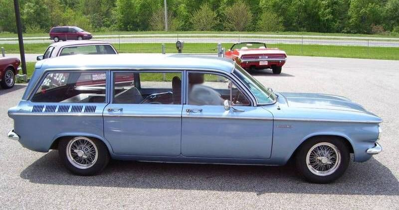 1961 Chevy Corvair Lakewood Station Wagon Modified Cars