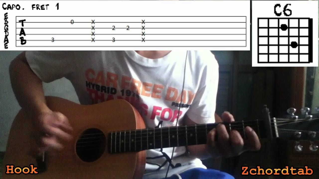 How To Play Yellow Raincoat Justin Bieber Chords Tabs Guitar