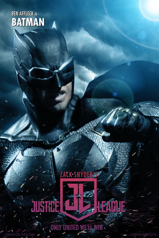 Zack Snyder S Justice League Fan Poster Batman By Portalcomic On Deviantart In 2021 Justice League Funny Justice League League Of Heroes