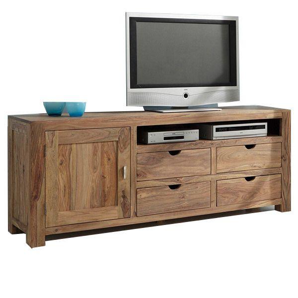 Mobile porta tv legno naturale | soggiorno | Pinterest | House