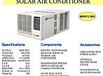 Affordable Solar Powered Air Conditioning in a Neat Little Package is Finally Here