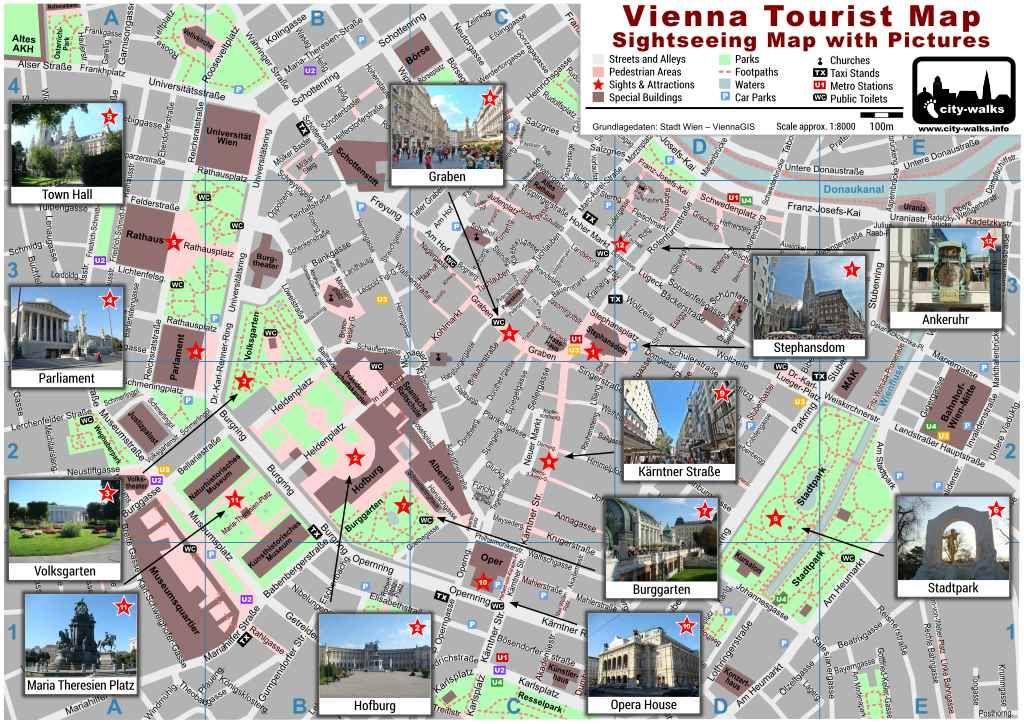 Vienna City Map Download Vienna Tourist Map Vienna City Map Vienna
