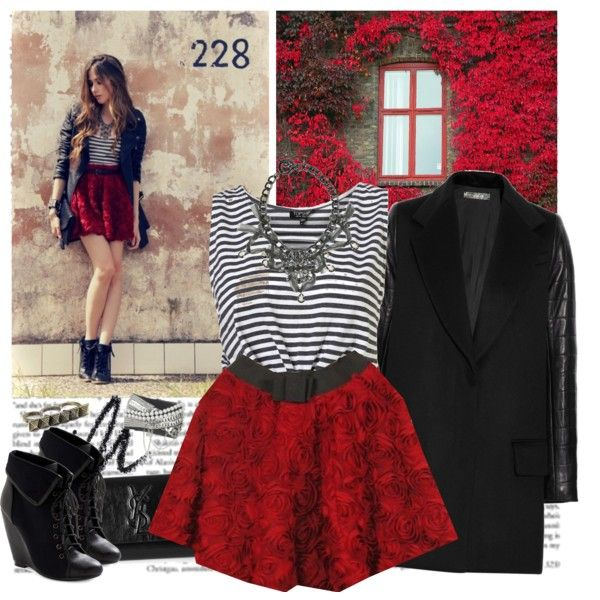 Roses, created by helena99.polyvore...