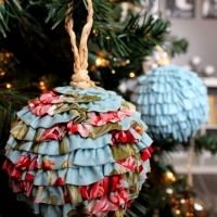 Frilly and Flouncy Ruffled Balls