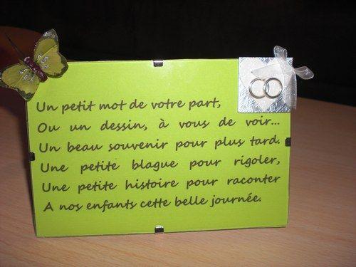 Texte Pour Table Livre Dor M Livre Dor Message
