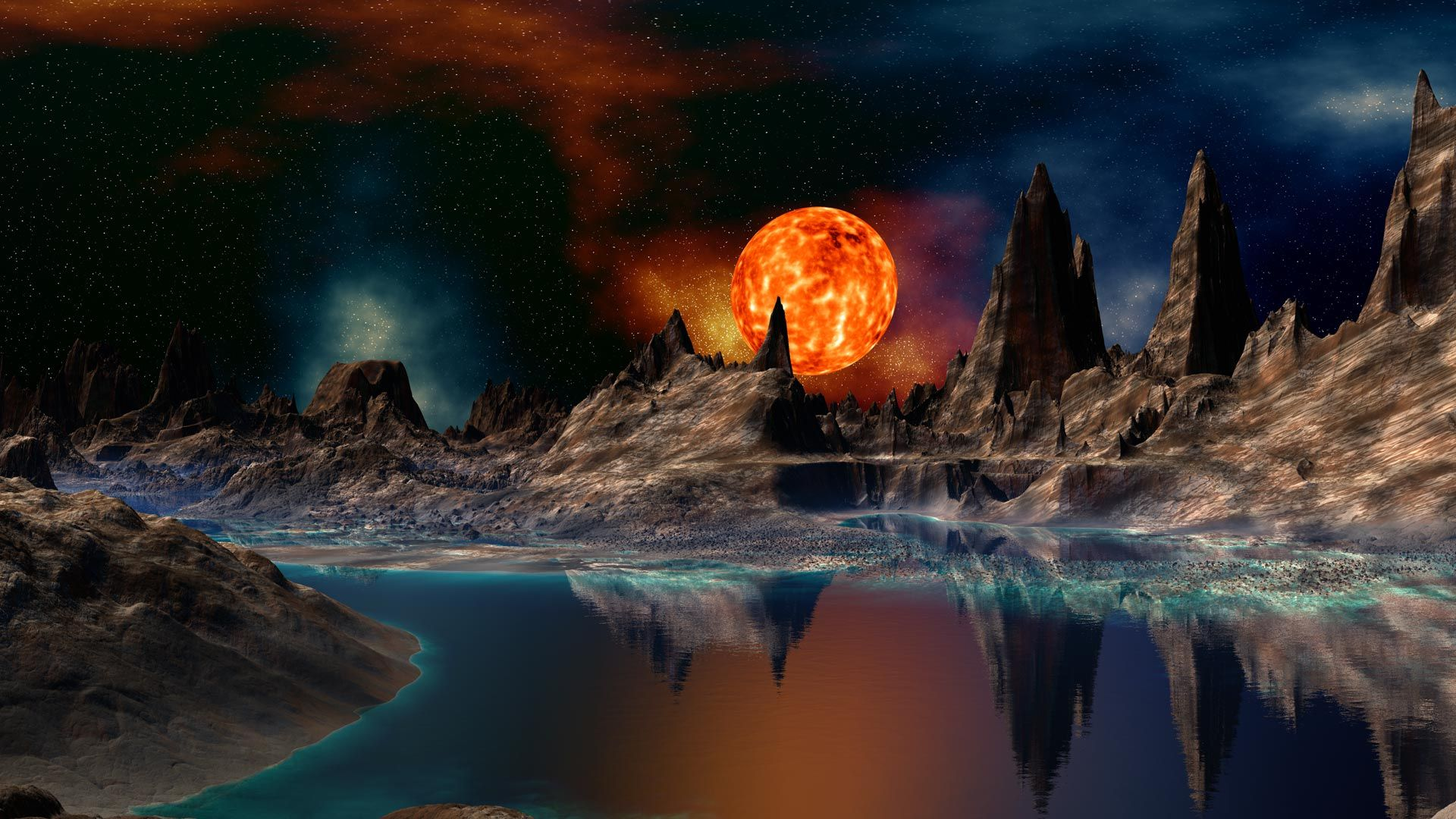 Worlds Of Doom !... In Cosmic Eternal Changes Of Space And