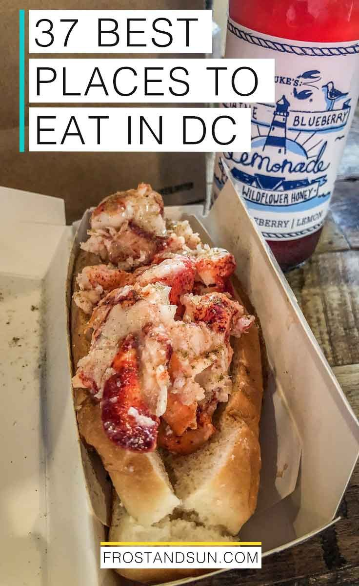 37 Mouthwatering Places to Eat in DC is part of Foodie travel, Washington dc travel, Visiting washington dc, Dc food, Travel food, Washington dc vacation - Washington, DC is a foodie paradise  From bottomless brunch spots to sticky sweets, here are the best places to eat in DC  dc washingtondc usa