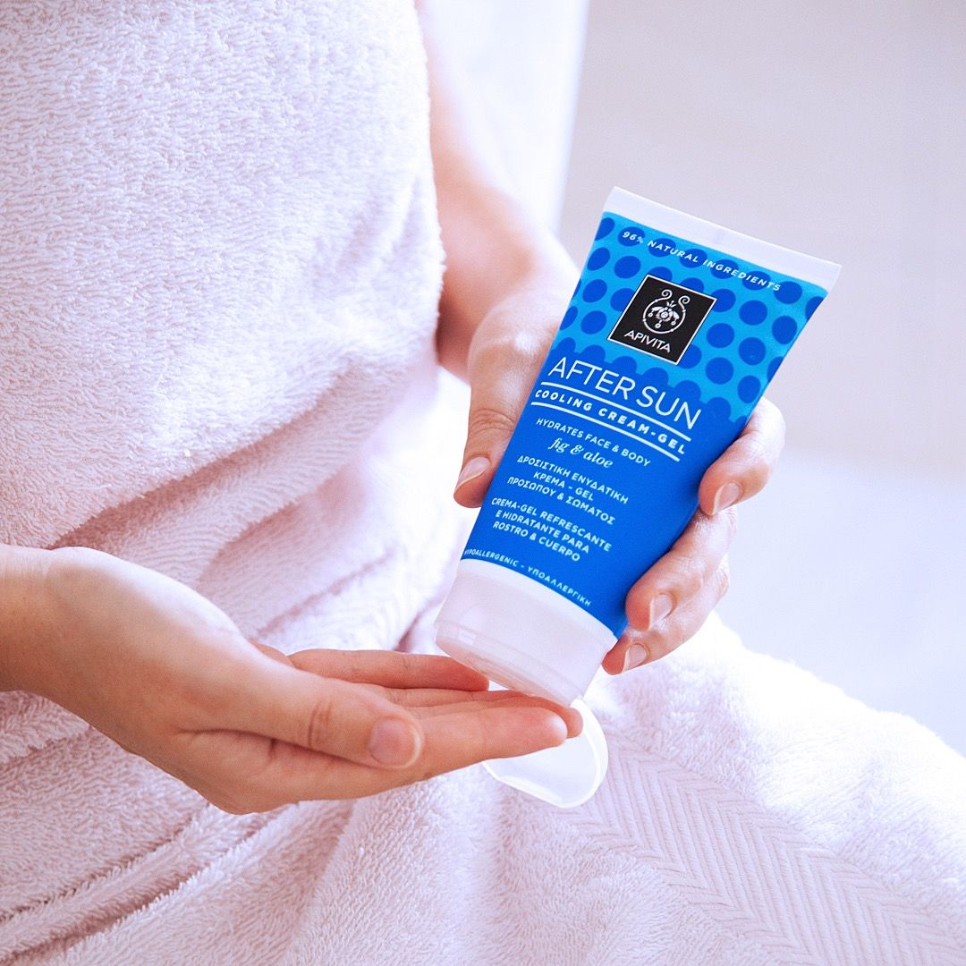 Stop Worrying About Sunburns Our Aftersun With Aloe Fig Is