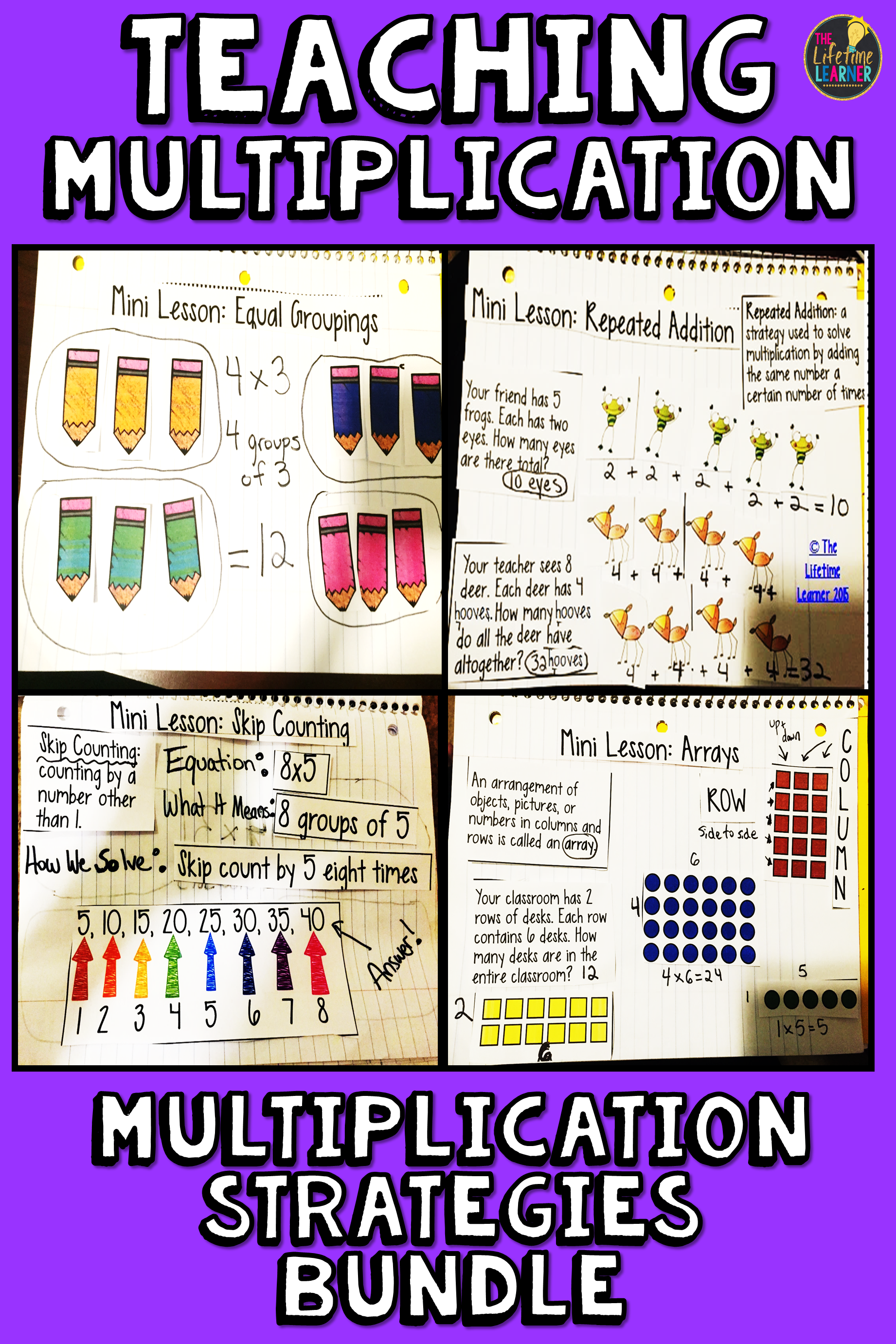 I Teach Third Grade Students Four Multiplication