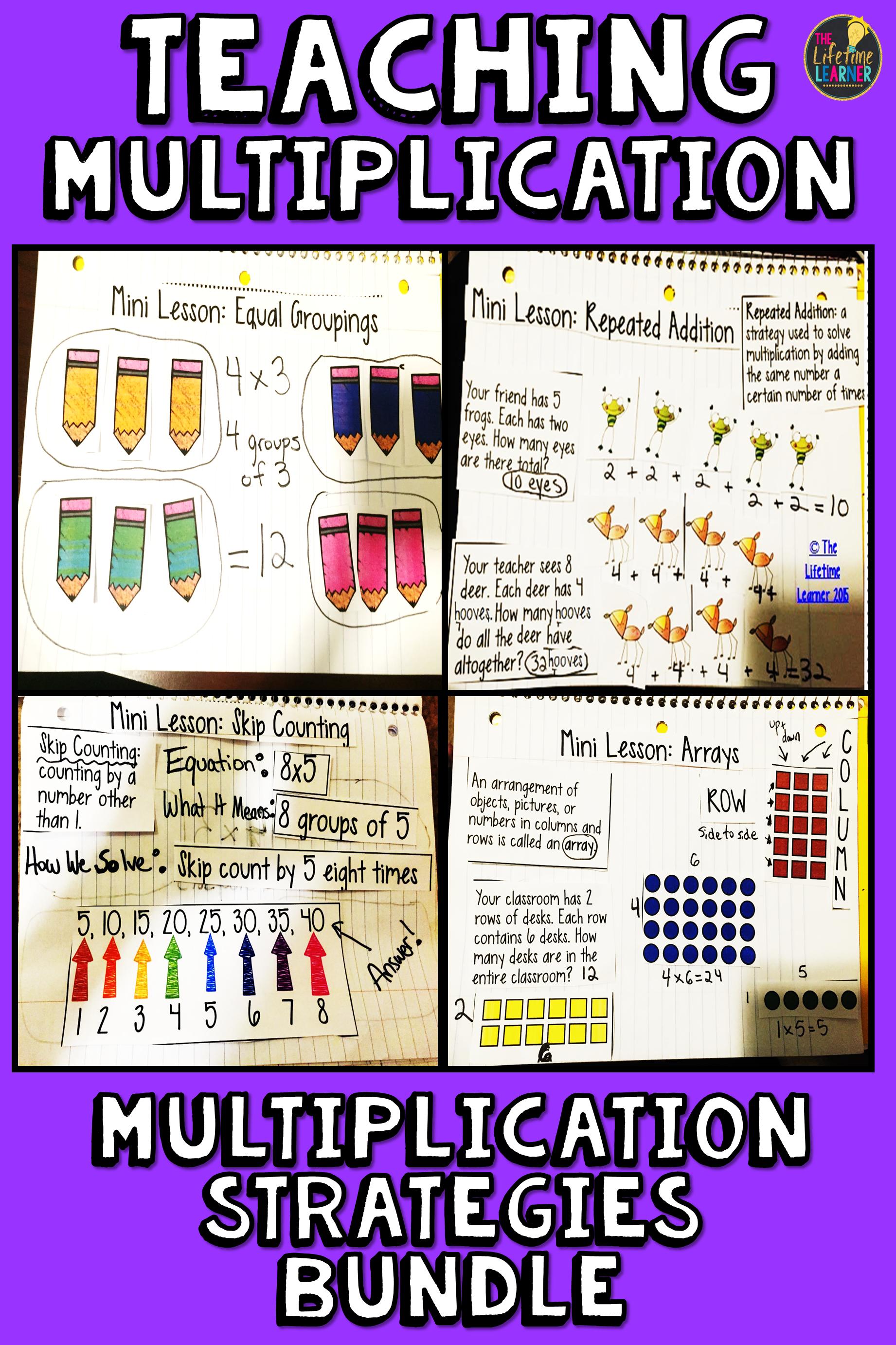 I Teach Third Grade Students Four Multiplication