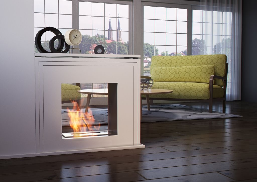 Ethanol Kamin Modell Juni Raumteiler In 2019 Wohnzimmer