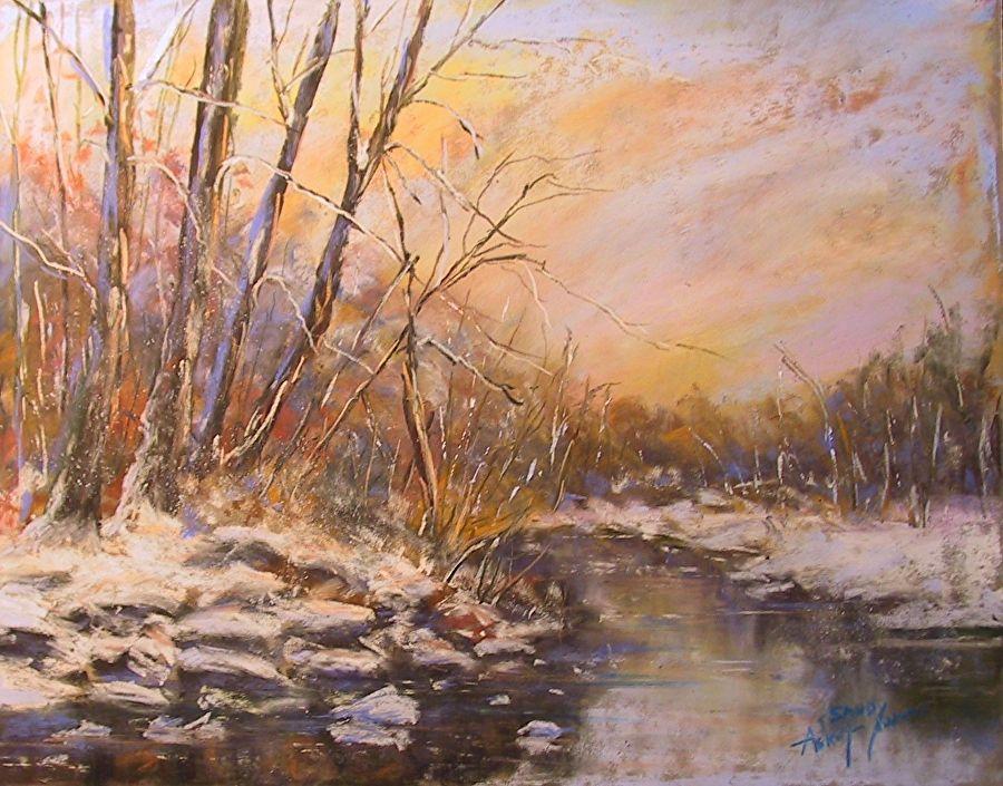 Sandy Askey-Adams - Portfolio of Works: Pastel Landscapes