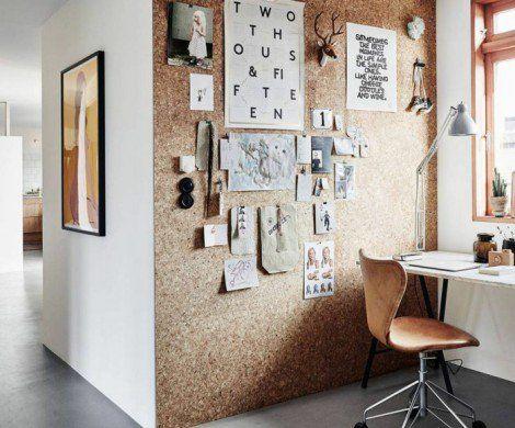 Kleines Arbeitszimmer ~ Pinnwand selber machen einen individuellen organisationshelfer