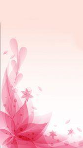 Pretty flowers on pink background mightylinksfo
