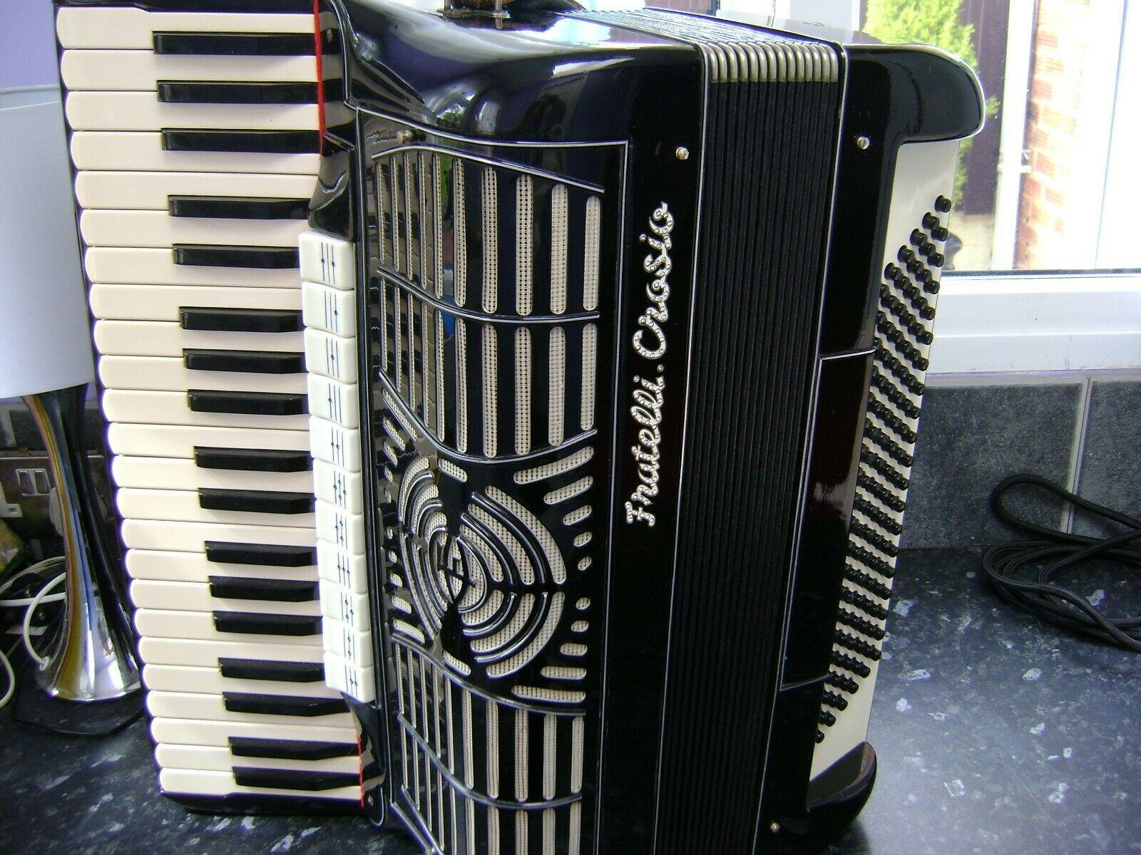 Fratelli Crosio Stradella Italy 1950s Accordion Bass 1950
