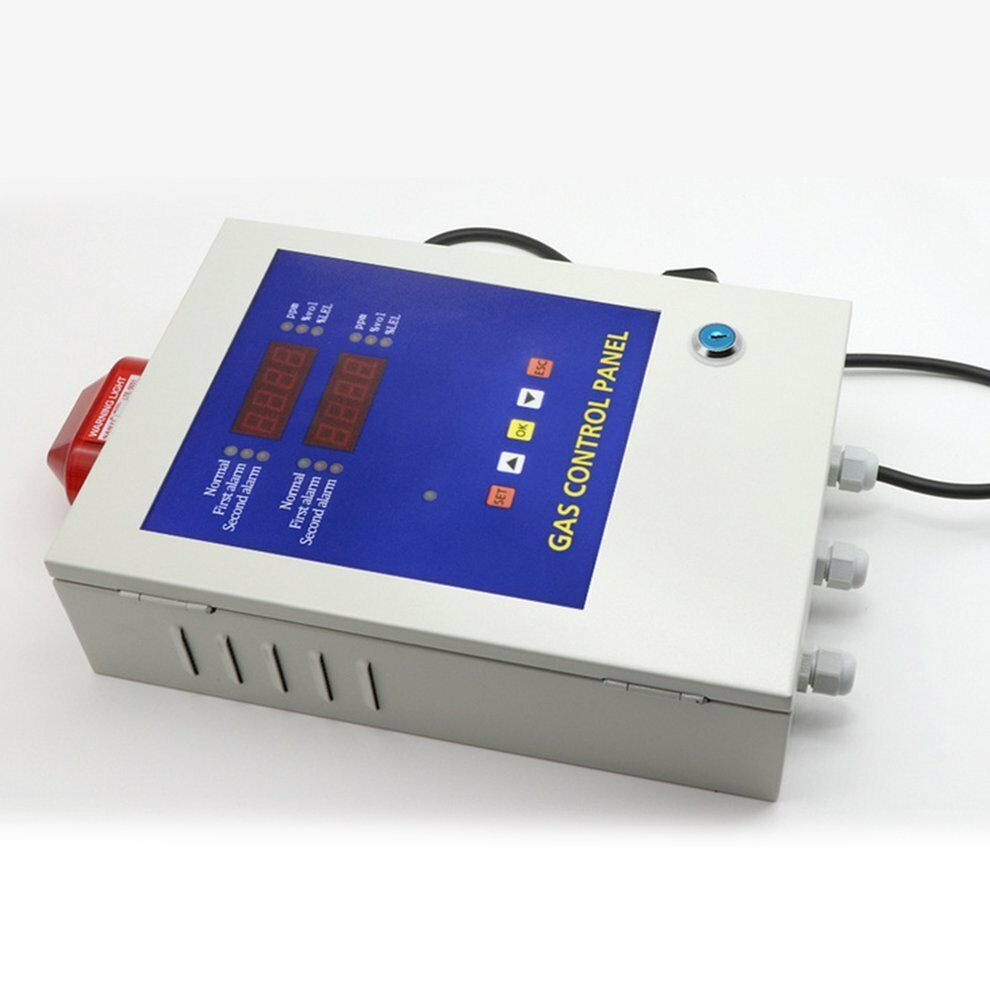 Bh 50 2 Channel Gas Monitor System Alarm Controller Detector Led Display Ub Elektroniken Technik Industrie