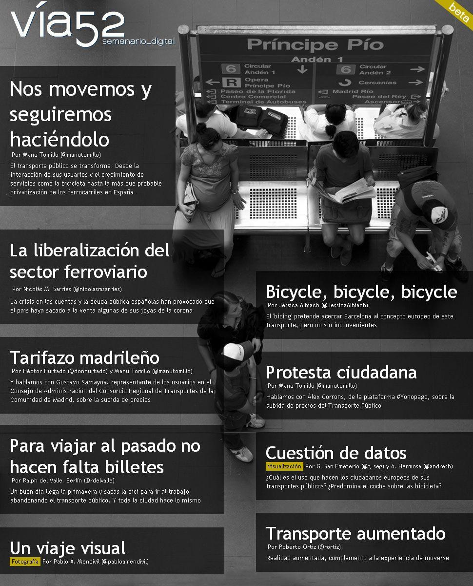 Portada del nº15: Transporte Público. Foto: Pablo Á. Mendivil  http://www.via52.com/archivos/numero15.php