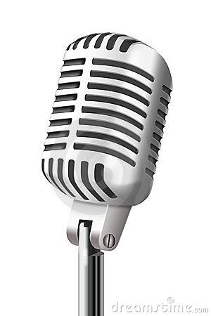 vintage microphone at clkercom vector online clipart free clip rh pinterest com clipart microphone interview clip art microphone drop