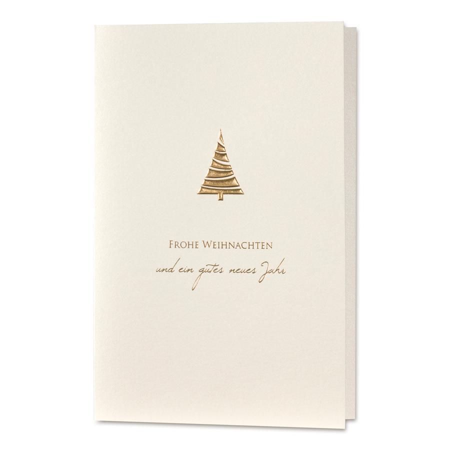Edle Weihnachtskarten.Edle Weihnachtskarten Im Goldenen Design Online Bestellen
