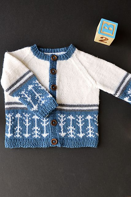 Which Way Is Up Free Fair Isle Baby Cardigan Knit Pattern Baby