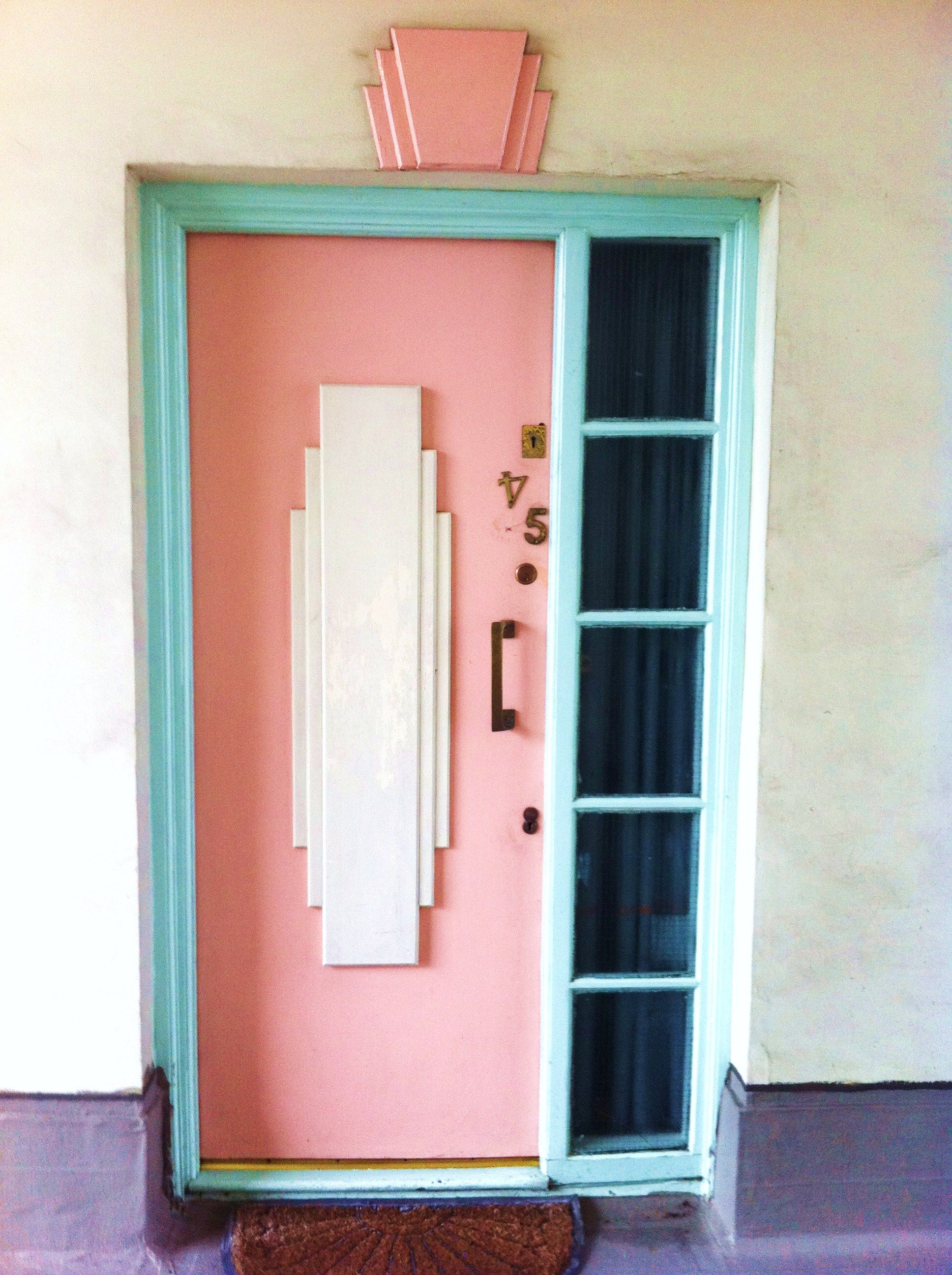 Art Deco Door Portsmouth Woo Embellishment Above Door Should Be Same Color As Frame