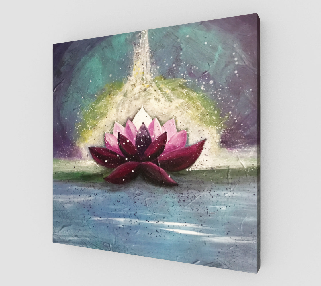 energy lotus backyards wall art and art