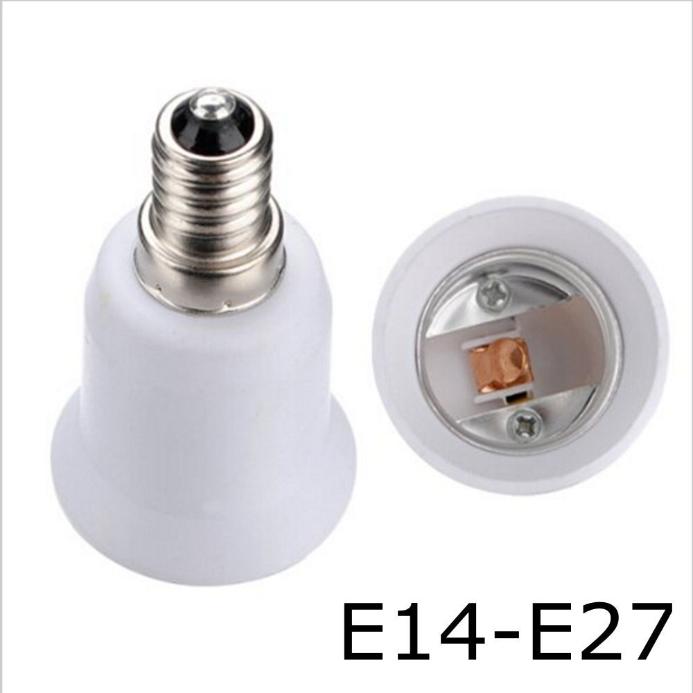 E14 E27 Adapter 1 06 E14 To E27 Led Light Bulb Base Lamp Socket Adapter Holder